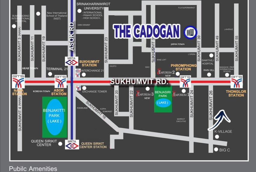 The Cadogan Private Residence Sukhumvit 39 - map
