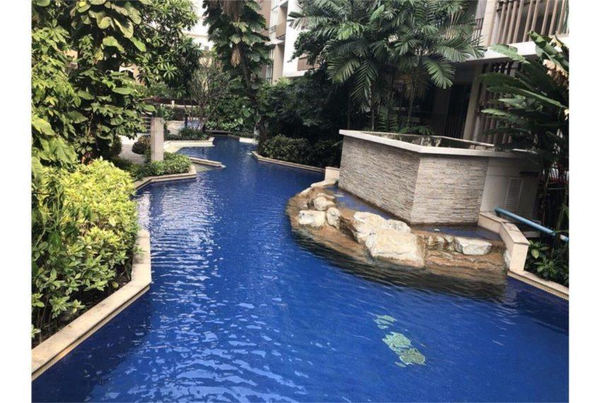 The Clover Thong Lo - garden