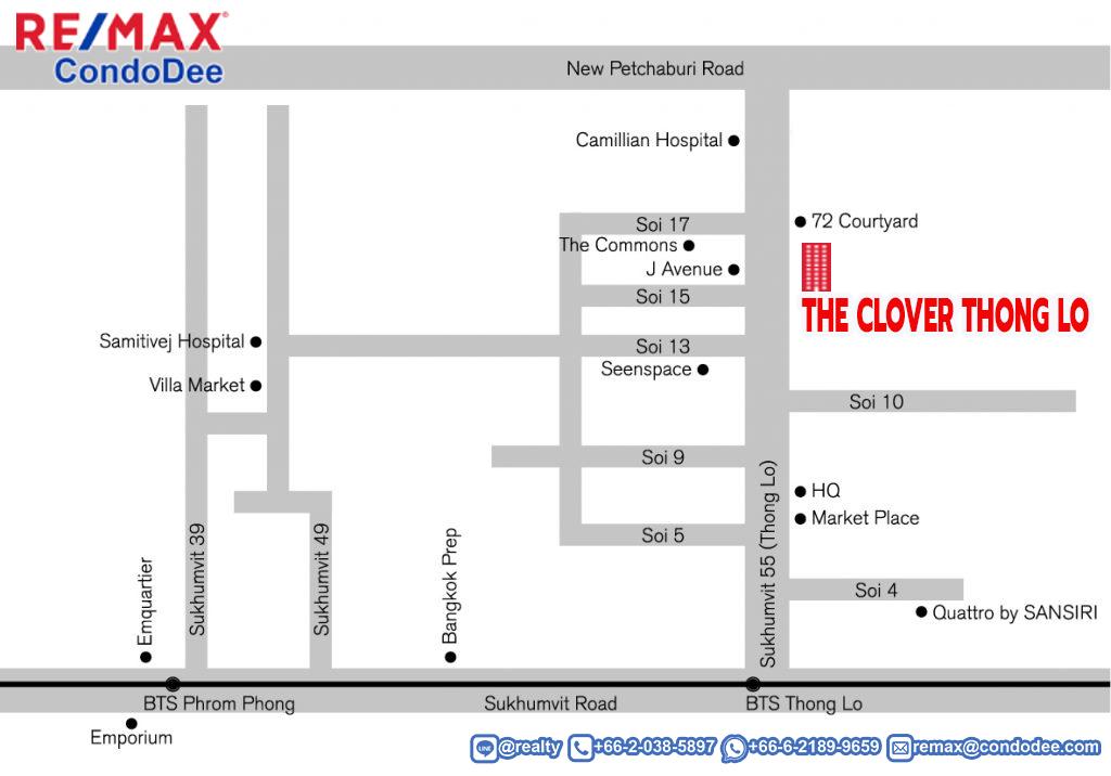 The Clover Thong Lo Low-Rise Condominium