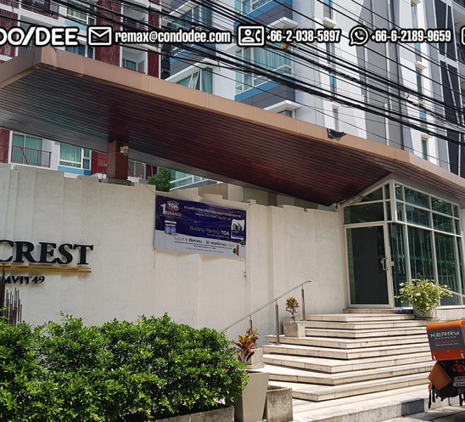 The Crest Sukhumvit 39 Low Rise Condominium Thong Lo