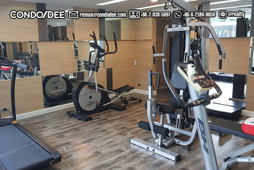 The Crest Sukhumvit 49 Condominium Thong Lo - fitness