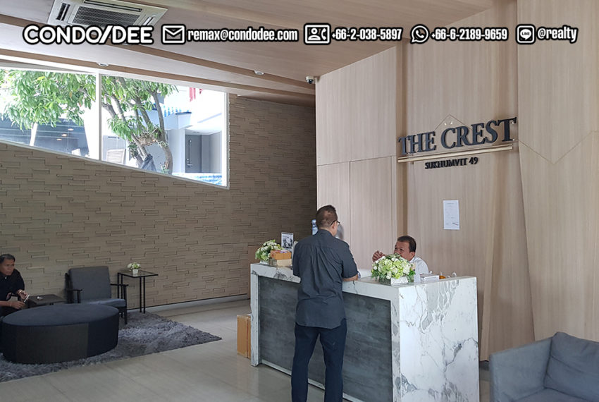 The Crest Sukhumvit 49 Condominium Thong Lo - swimming pool