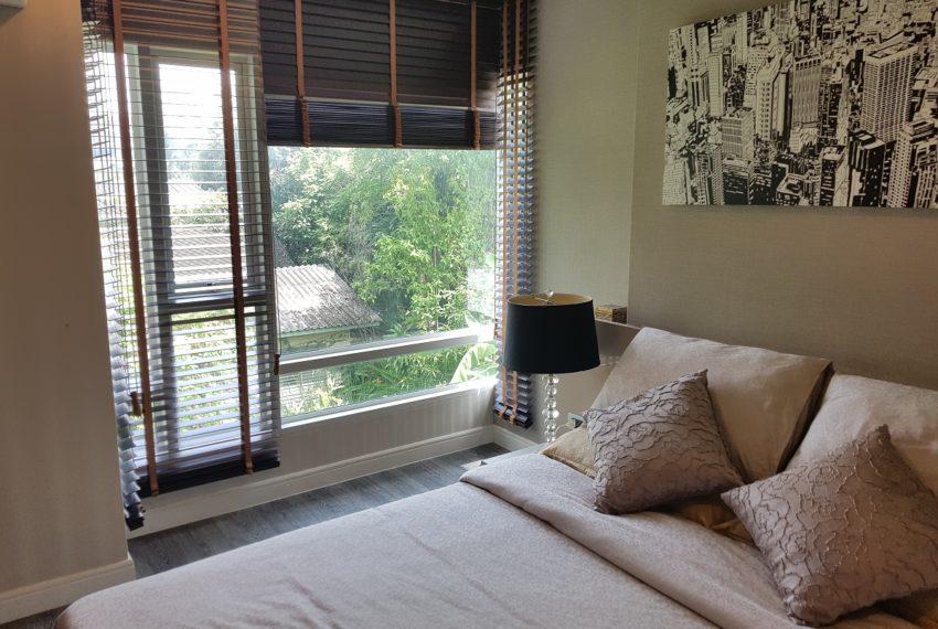 The Crest Sukhumvit 49 - 1-bedroom low floor - bedroom