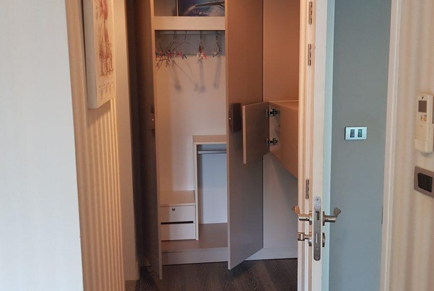 The Crest Sukhumvit 49 - 1-bedroom low floor - built-in-wardrobes