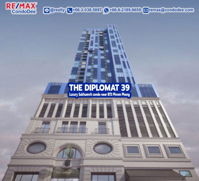The Diplomat 39 Luxury Sukhumvit Condominium Near BTS Phrom Phong