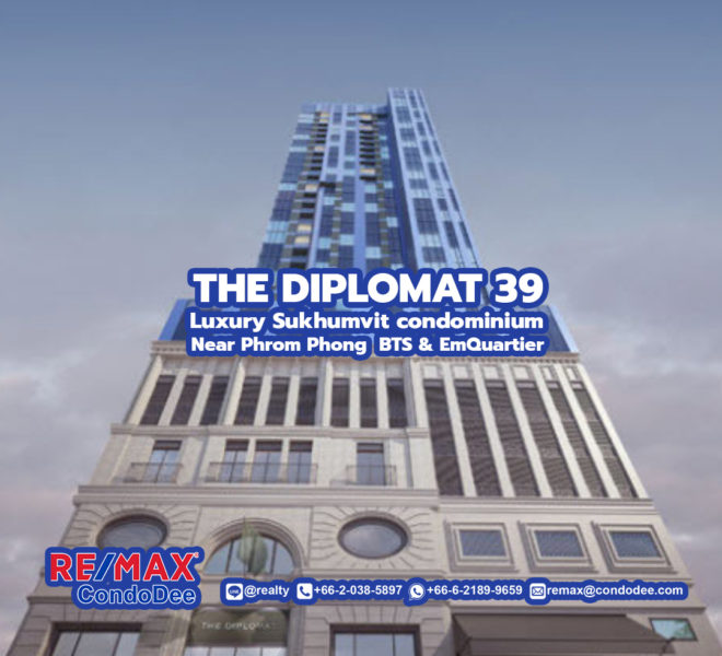 The Diplomat 39 Condominium - REMAX CondoDee