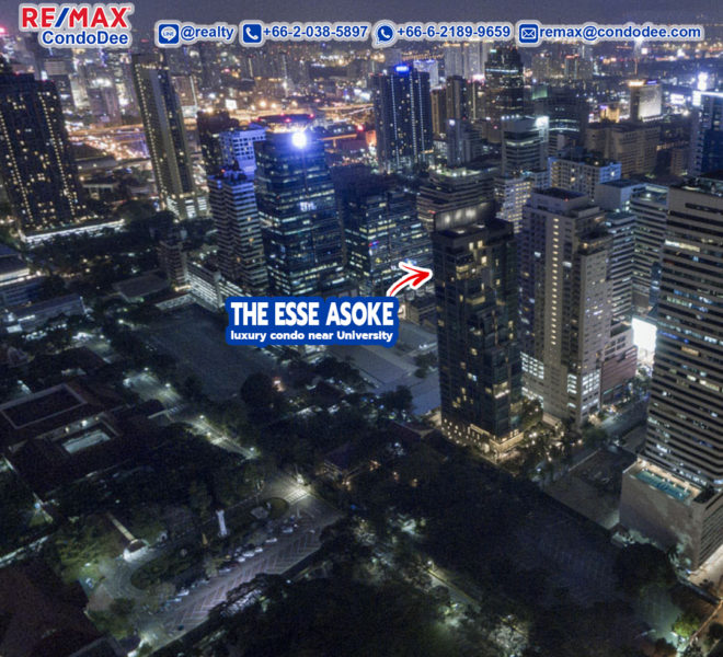 The Esse Asoke Luxury Condominium Near University