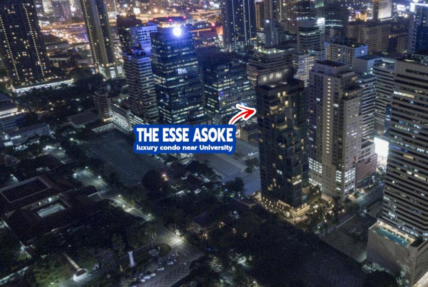 The ESSE Asoke condo 3 - REMAX CondoDee