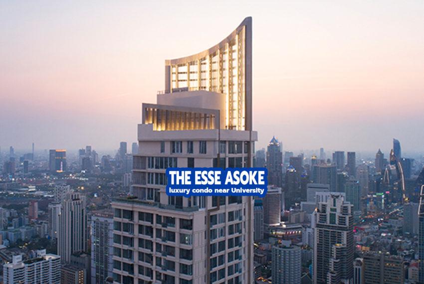 The ESSE Asoke condo - REMAX CondoDee