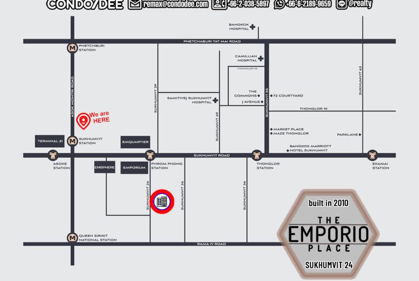 The Emporio Place condo - map