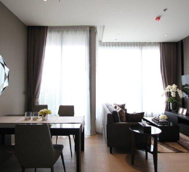 Condo for rent in luxury building in Asoke - 2 bedroom - mid floor - The Esse Asoke