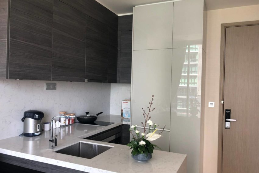 The Esse Asoke - 1 bed 1 bath _For Rent _Kitchen