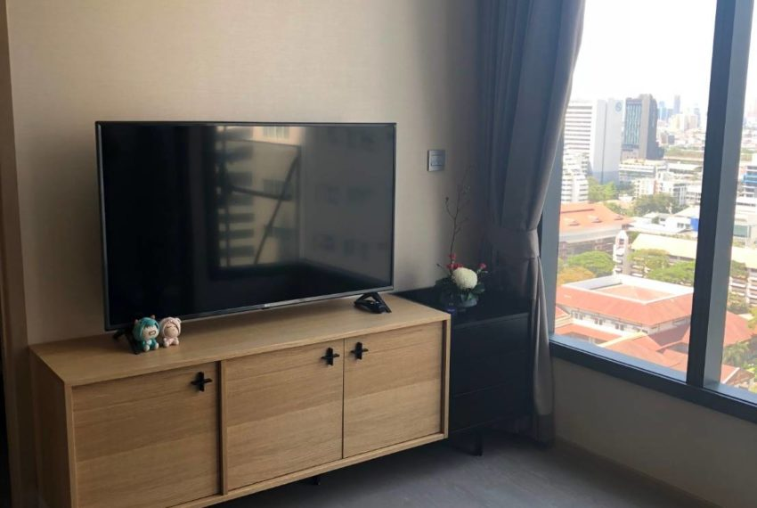 The Esse Asoke - 1 bed 1 bath _For Rent _Living Room 3