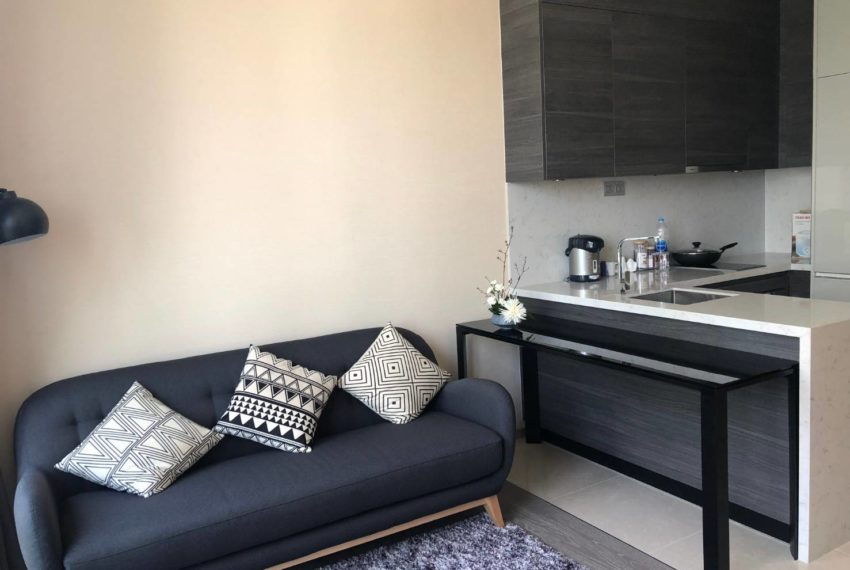 The Esse Asoke - 1 bed 1 bath _For Rent _Living Room