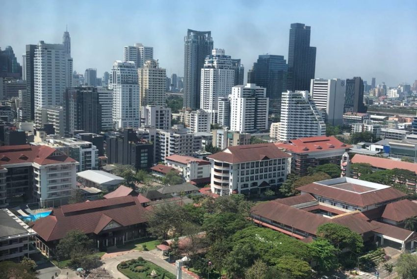 The Esse Asoke - 1 bed 1 bath _For Rent _View From Room