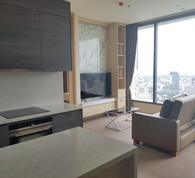 2 Bedroom condo for rent in Asoke - Top Floor - The Esse Asoke