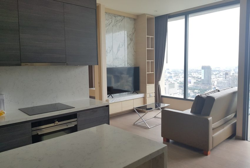 The Esse Asoke - High floor - rent or sale - living