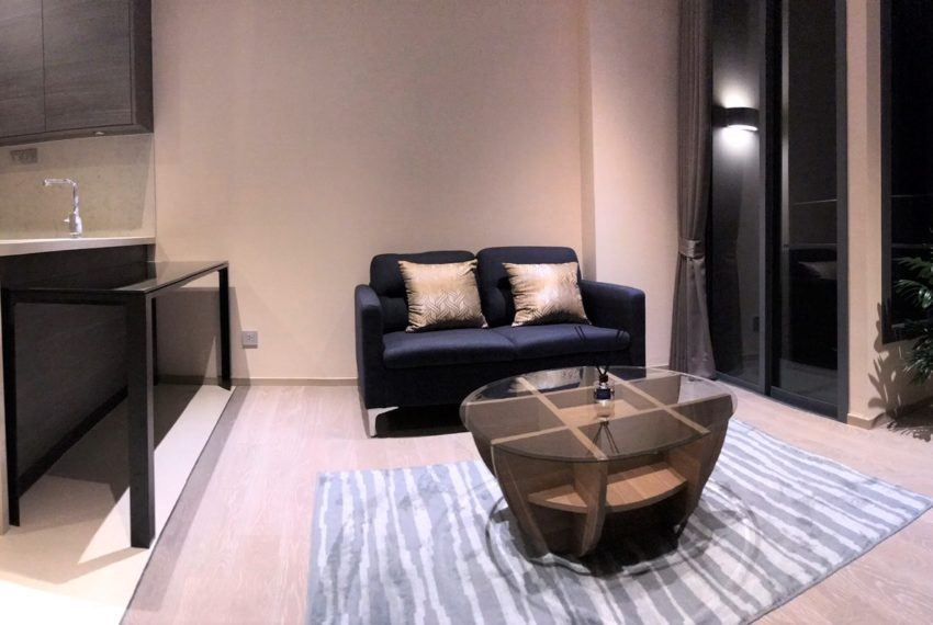 The Esse Asoke for rent - 1 bed 1 bath - Living rooom 5