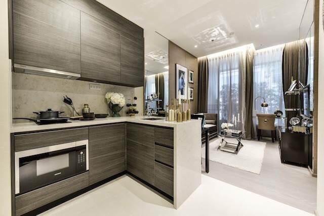 The Esse asoke -1 bed 1 bath- kitchenroom
