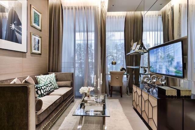 The Esse asoke -1 bed 1 bath- livingroom