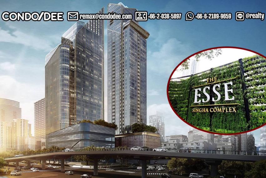 The Esse at Singha Complex Condominium - REMAX CondoDee