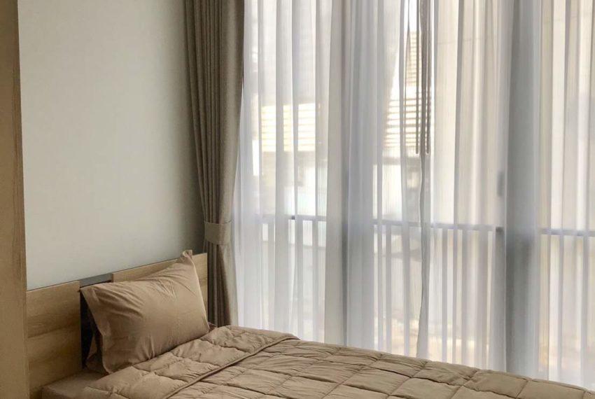 The Line Asoke Asoke-Ratchada Rama9 2beds1bath bed room1