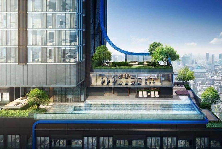 The Line Asoke - Ratchada - 1 bed 1 bath - Building