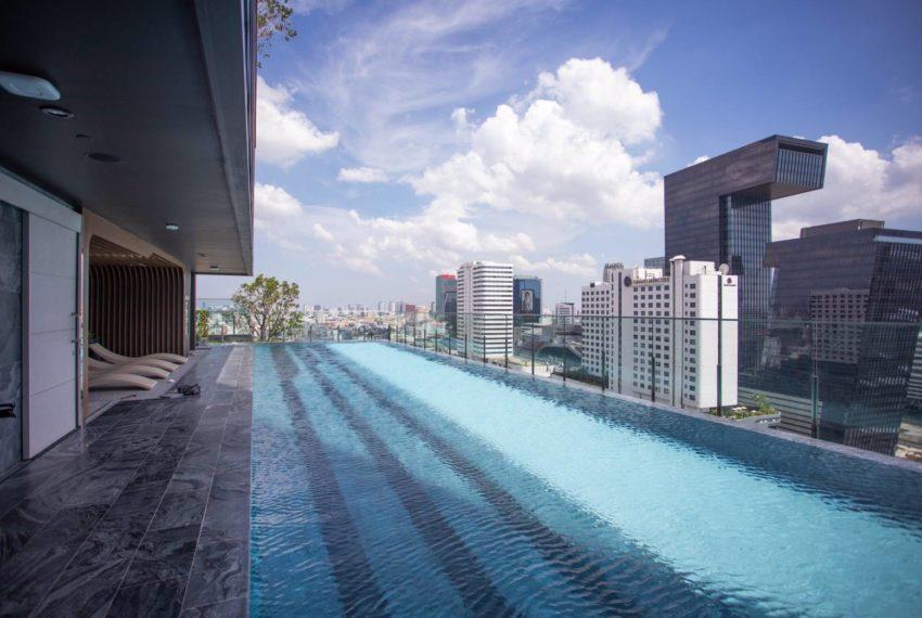The Line Asoke - Ratchada - 1 bed 1 bath - Swimming Pool