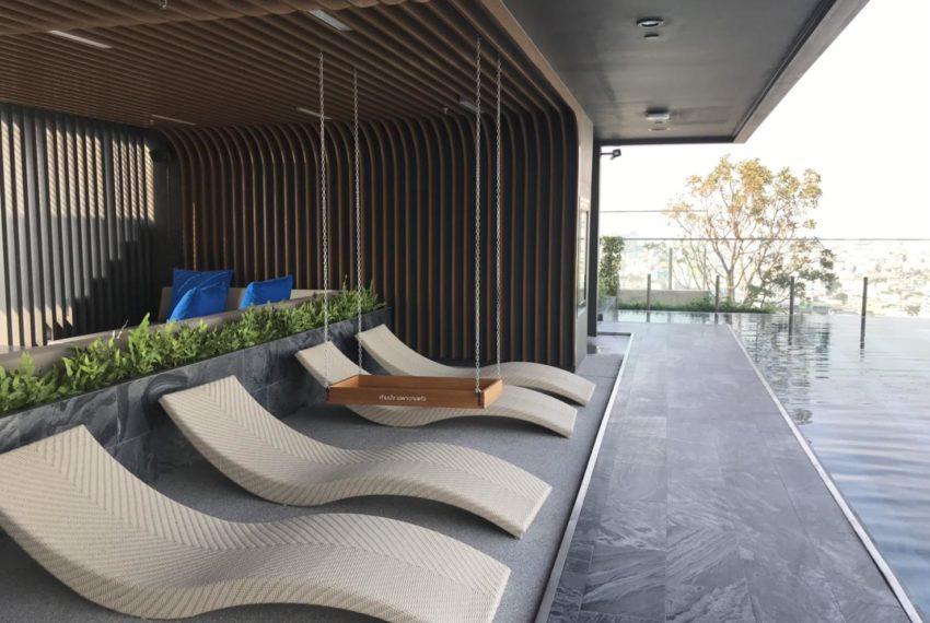 The Line Asoke-Ratchada Rama9 2beds 1bath swimming pool