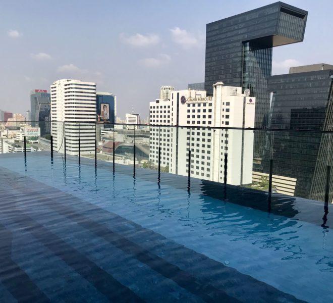 The Line Asoke-Ratchada Rama9 2beds1bath swimming pool
