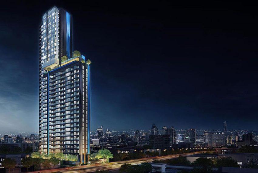 The Line Asoke Ratchada-building