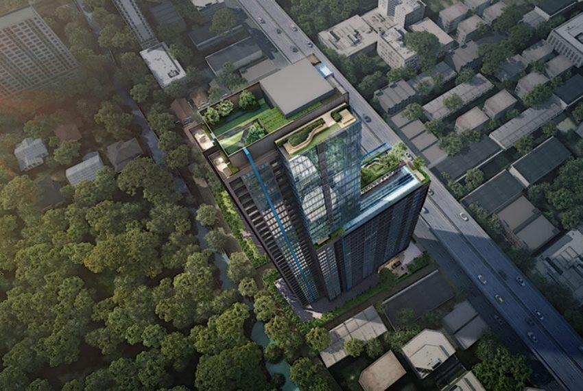 The Line Asoke Ratchada-rooftop