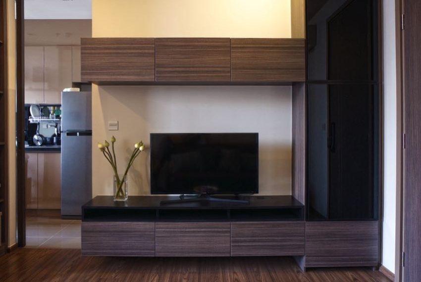 The Line Sukhumvit 71 1-bedroom - rent - TV