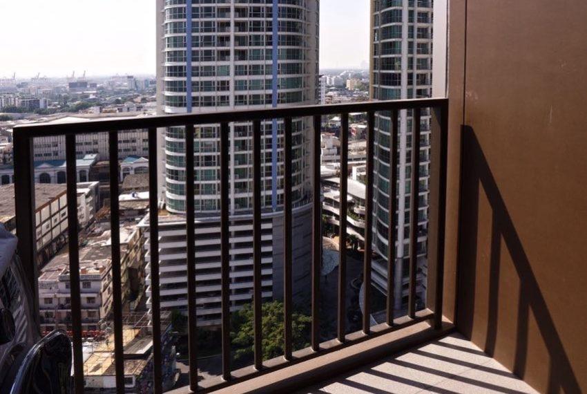 The Line Sukhumvit 71 1-bedroom - rent - balcony