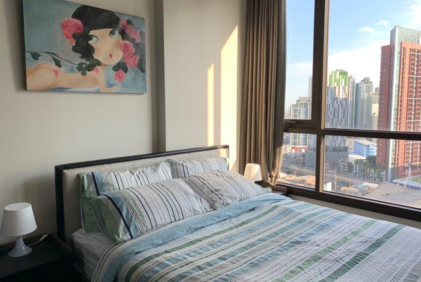 The Line Sukhumvit 71 1-bedroom - rent - bedroom