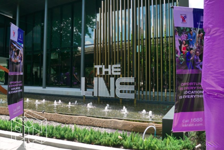 The Line Sukhumvit 71 - entrance