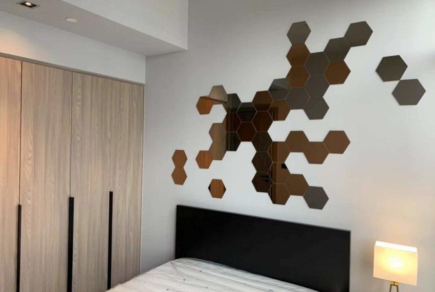 The Lofts Asoke -1b1b -Rent - High Floor - bedroom