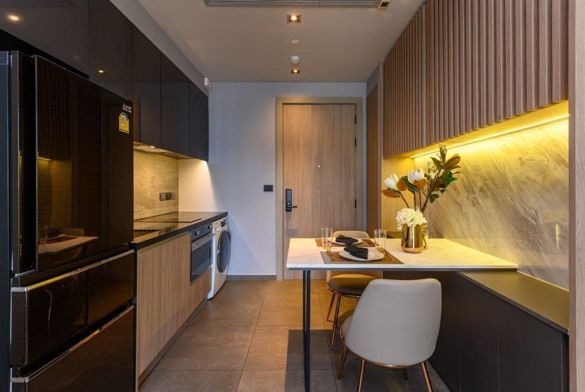 The Lofts Asoke - RENT - lusury 1b1b-kitchen