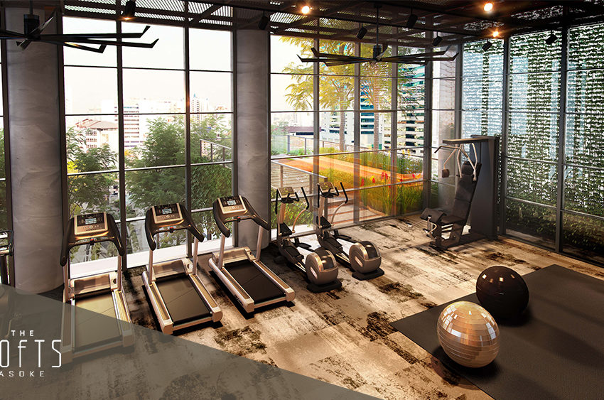 The Lofts Asoke by Raimon Land - Fitness