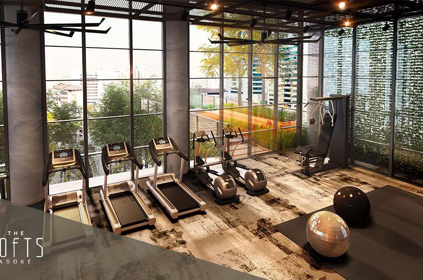 The Lofts Asoke by Raimon Land - Fitness