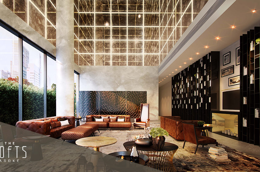 The Lofts Asoke by Raimon Land - Lobby