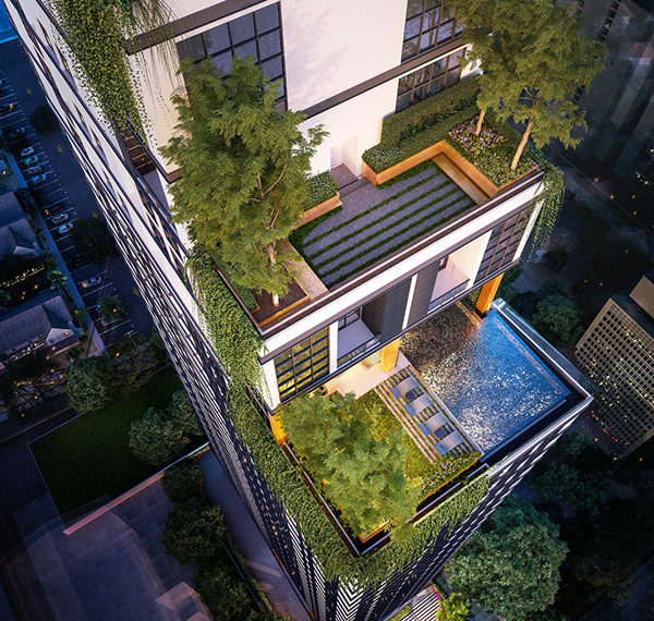 The Lofts Asoke by Raimon Land - building 02