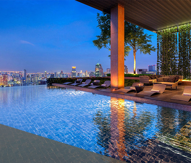 The Lofts Asoke by Raimon Land - swimming pool