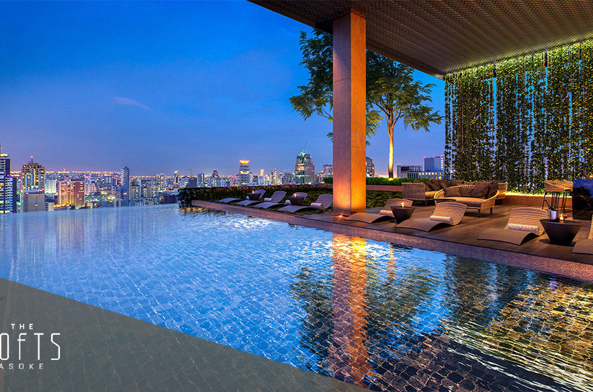 The Lofts Asoke by Raimon Land - swimming pool