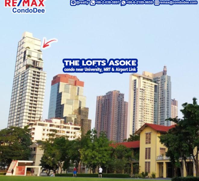 The Lofts Asoke condo 2 - REMAX CondoDee