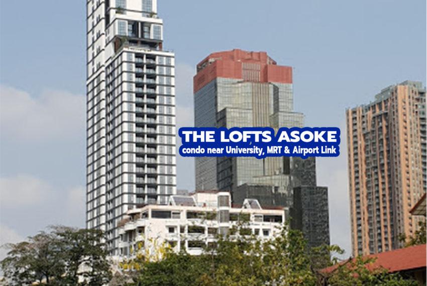 The Lofts Asoke condo - REMAX CondoDee