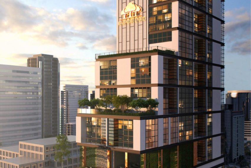 The Lofts Asoke - top building