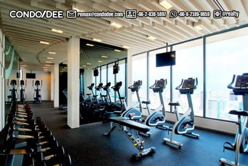 The-Lumpini-24-Condominium-gym-club