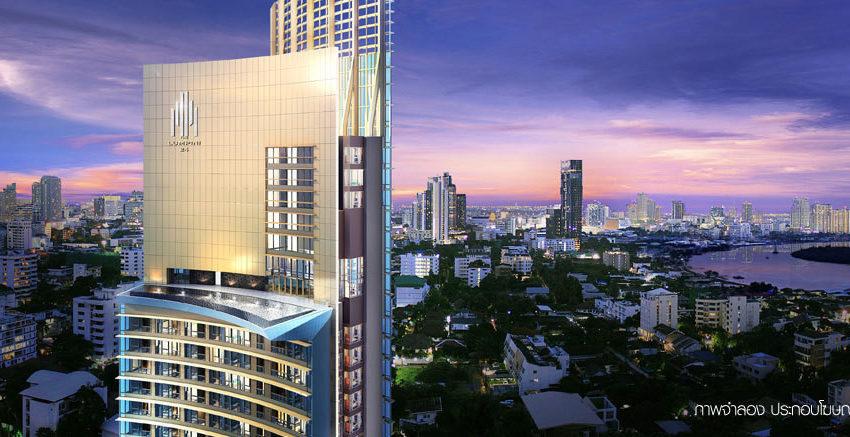 The-Lumpini-24-Condominium-top-view