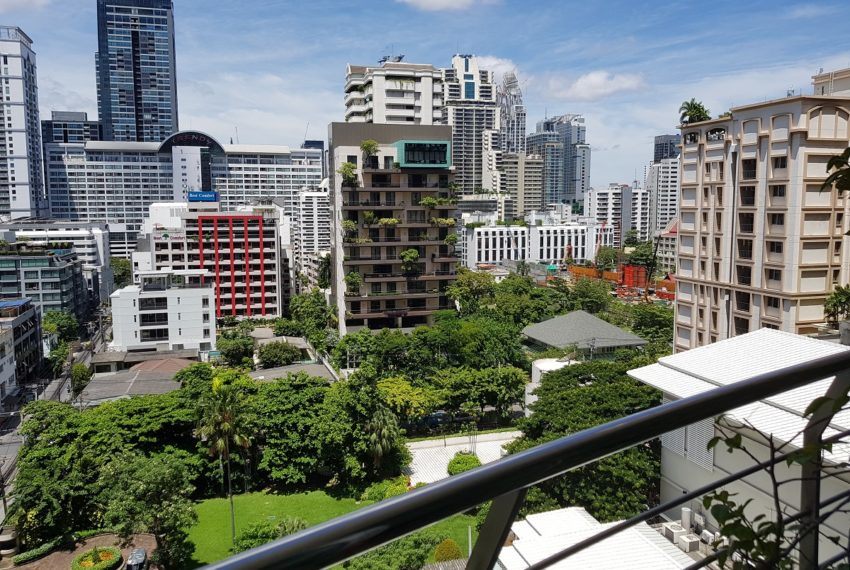 The Master Centrium Condo at Asoke 2-bedrooms - balcony view